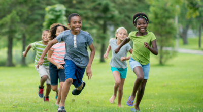 outdoor games for large groups of kids