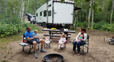 camping essentials with toddlers